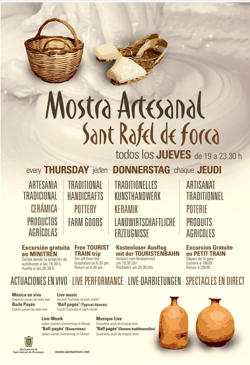 EXHIBITION OF TRADITIONAL CRAFTS - SANT RAFAEL