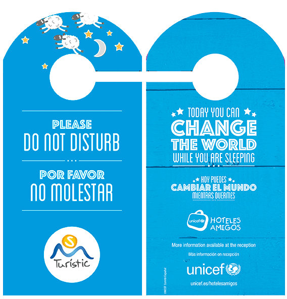 "The Hotel Puchet collaborates with UNICEF in the ""Program Hotels FRIENDS"" whose motto is ""Today you can change the world while you are sleeping"". This supports the initiative to combat child sexual exploitation in developing countries."