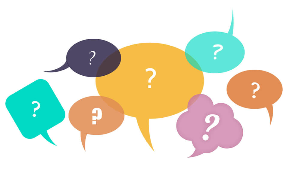 The 10 most frequently asked questions of our clients